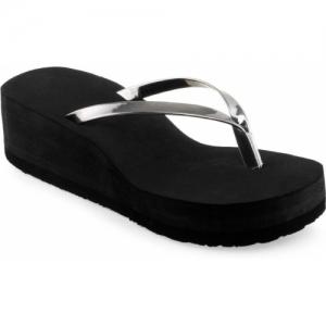 Yashasvi Black Nylon Slippers