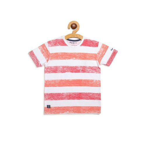 Pepe Jeans Striped Crew- Neck T-shirt