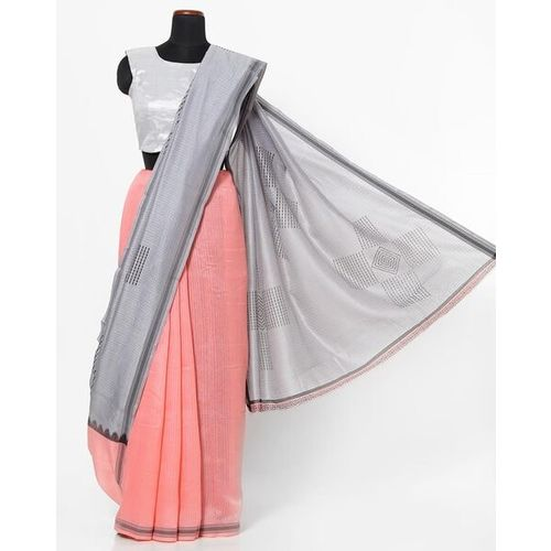 RACHNA Printed Half-and-Half Saree
