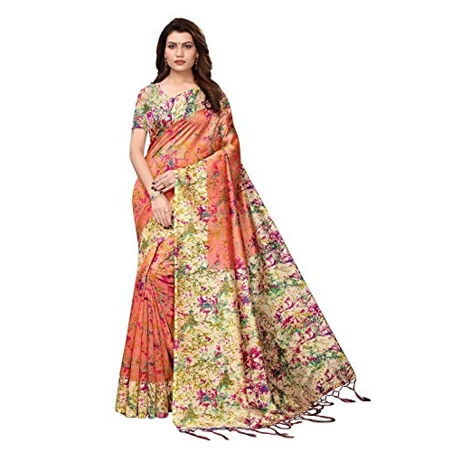 Traditional Fashion Great Indian Festival New Collection 2019 Saree With Blouse Piece