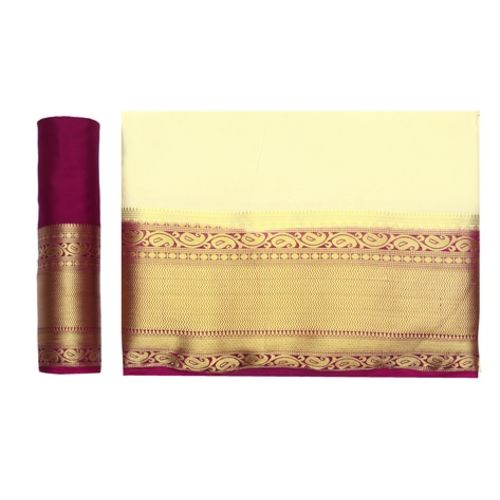 MIMOSA Textured Traditional Saree