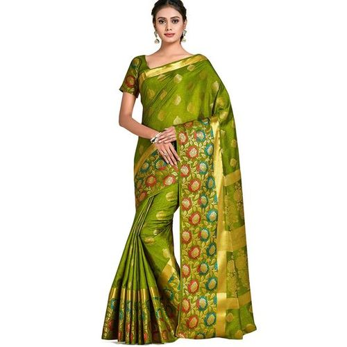 MIMOSA Floral Pattern Traditional Saree