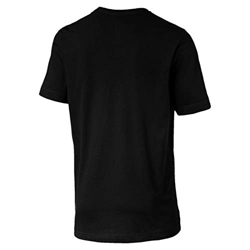Puma (85174001) Black Cotton printed T-Shirt