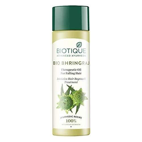 Biotique Bio Bhringraj Fresh Growth Therapeutic,120ml hair oil