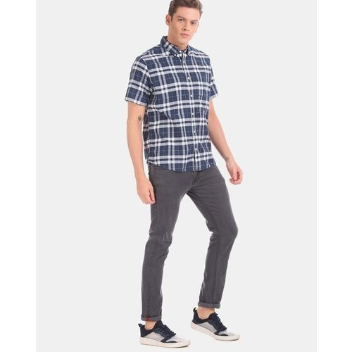 GAP Checked Shirt with Patch Pocket