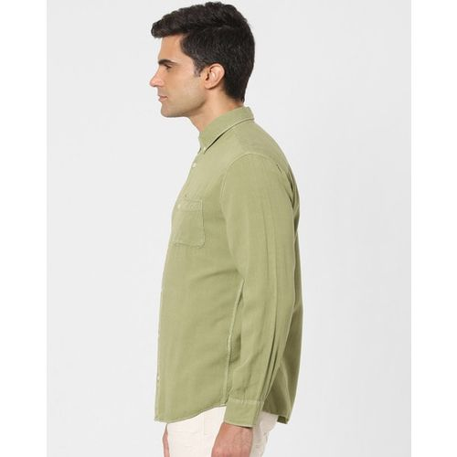 SELECTED Slim Fit Shirt with Patch Pocket
