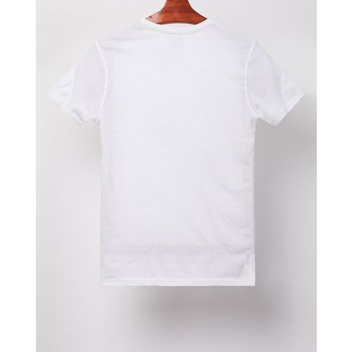 DNMX Ombre-Dyed Graphic Print Crew-Neck T-shirt