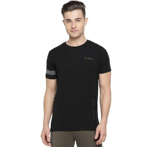 Pepe Jeans Logo Print Crew-Neck T-shirt wit Zip Pockets
