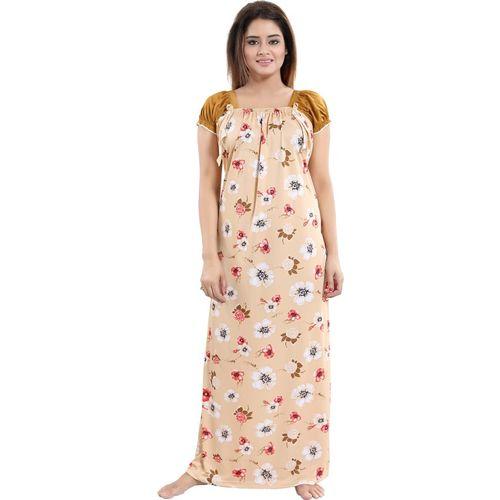 Shopping World Women Nighty(Multicolor)