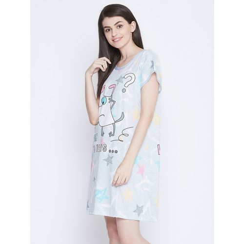 CAMEY quirky print sleepshirt