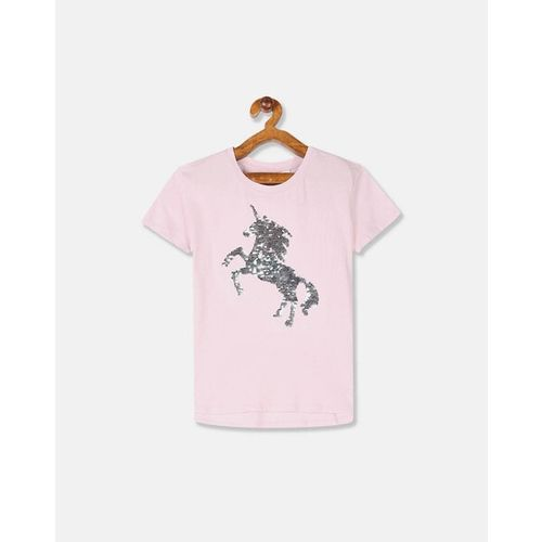 GAP Sequined Cotton Crew-Neck T-shirt