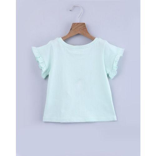 BEEBAY Embroidered Round-Neck T-shirt