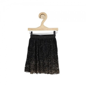 ALLEN SOLLY Sequinned Flared Skirt