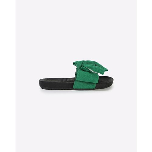Hoppipola Sliders with Bow Accent