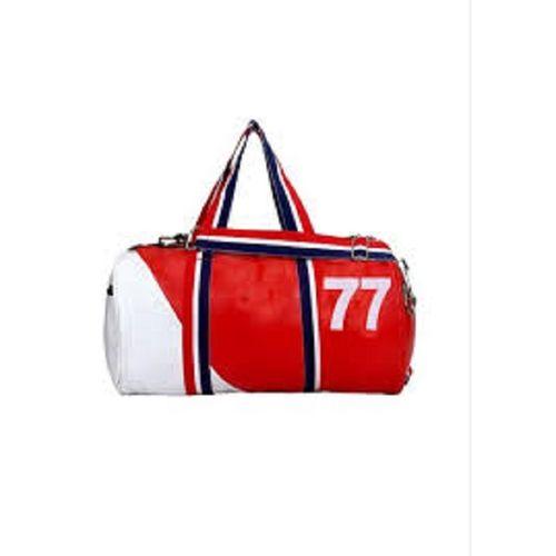 Proera 24 L Red White 77 Gym/Duffel/Travelling Bag (Unisex)