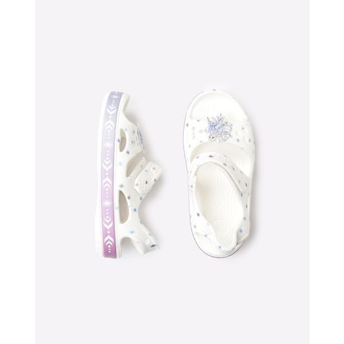 CROCS Printed Slingback Sandals with Cutouts