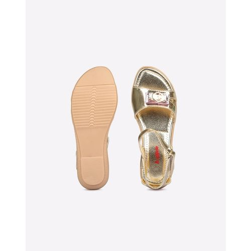 HI-ATTITUDE Glossy Casual Sandals with Velcro Fastening