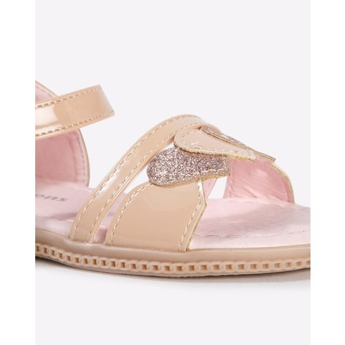 KITTENS Strappy Flat Sandals with Velcro Fastening