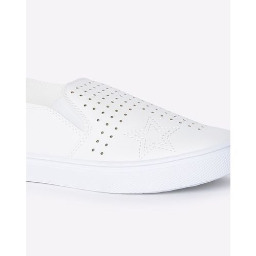 RIO GIRLS Slip-On Flat Shoes with Perforations