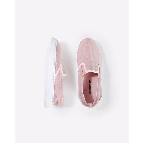 HI-ATTITUDE Shimmery Slip-On Shoes
