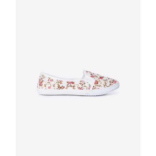 RIO GIRLS Floral Print Slip-On Casual Shoes