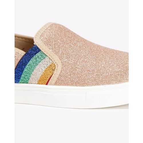 UNITED COLORS OF BENETTON Slip-On Shoes with Contrast Gussets