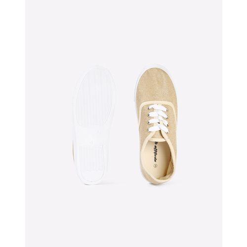 HI-ATTITUDE Textured Lace-Up Shoes