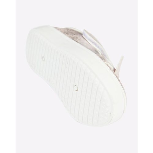 Mothercare Textured Low-Top Casual Shoes with Velcro Fastening
