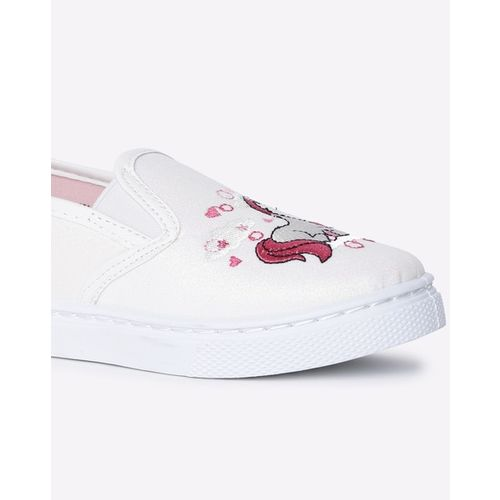 FRENDZ Unicorn Print Slip-On Shoes