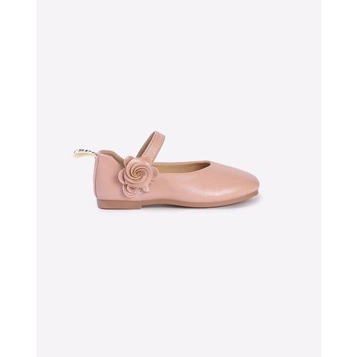 Hoppipola Mary Jane Flat Shoes with Rosette