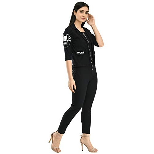 Neysa Black Cotton Lycra Dress