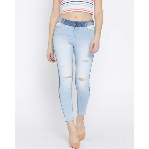 Xpose Slim Fit Distressed Jeans