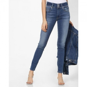 LEVIS High-Rise Mid-Wash Skinny Jeans
