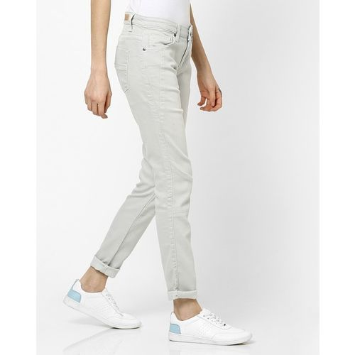 UNITED COLORS OF BENETTON Panelled Sim Fit Jeans