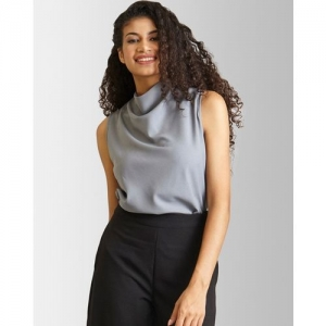 Fable Street Cowl-Neck Sleeveless Top