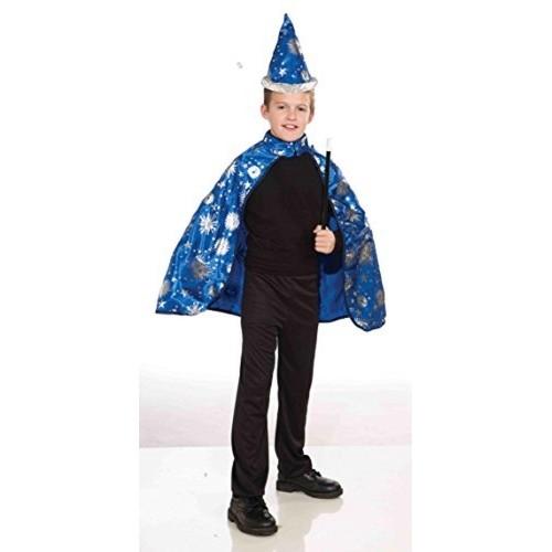 Forum Novelties Inc Black Wizard Cape & Hat Costume