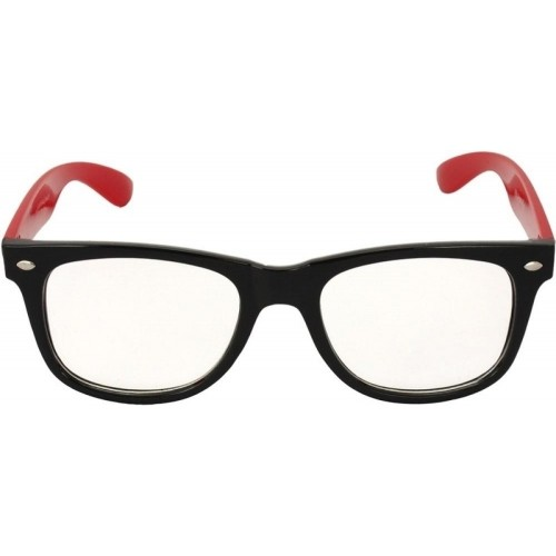 Saugat Traders Stylish Wayfarer Clear Lens Sunglasses