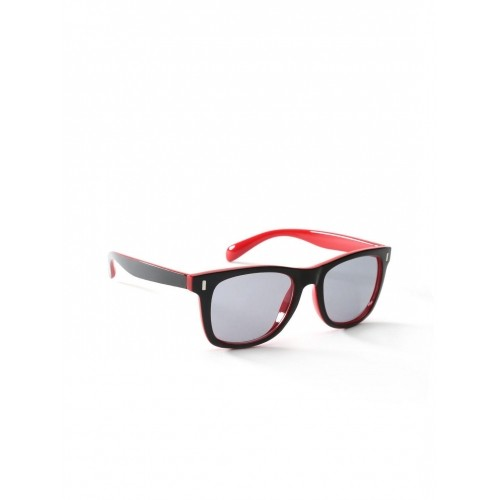 red wayfarer sunglasses uqw9  Mast & Harbour MFB SN 068 Black & Red Wayfarer Sunglasses