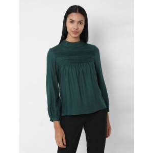 Solly by Allen Solly Teal Regular Fit Top