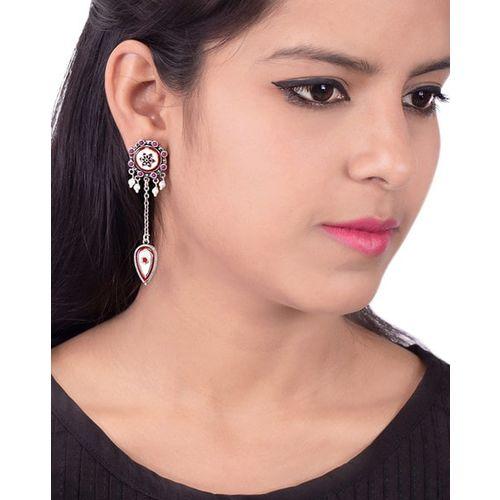 VOYLLA Embellished Dangler Earrings