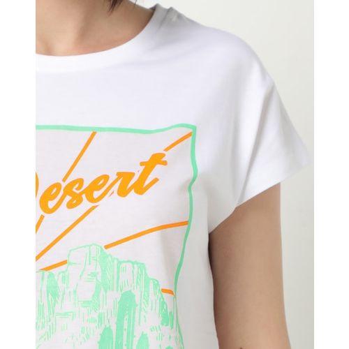 DNMX Graphic Print Crew-Neck T-shirt