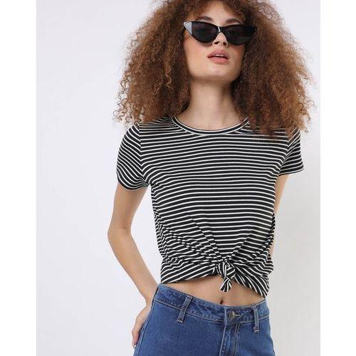 Teamspirit Striped Round-Neck T-shirt