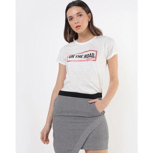 DNMX Typographic Print Crew-Neck T-shirt