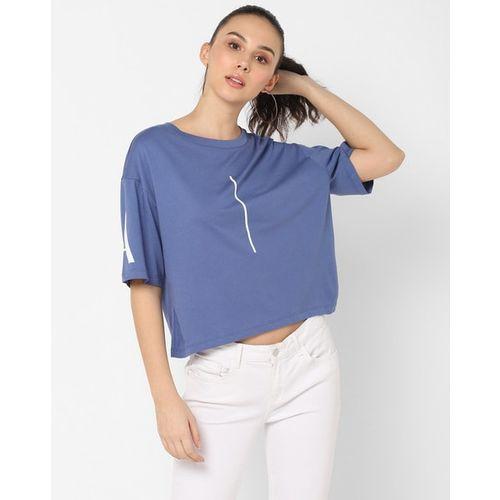 ARMANI EXCHANGE Brand Print Crew-Neck T-shirt