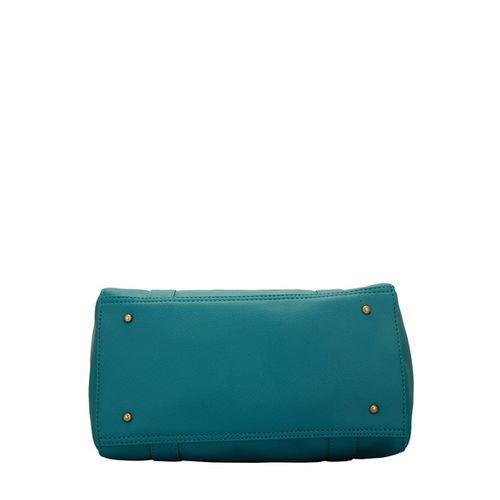 Lapis O Lupo Textured Handbag with Detachable Strap