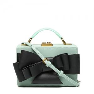 Diana Korr Big Bow Decor Box Sling Bag