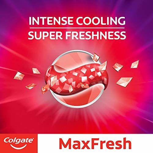 Colgate Max Fresh, Spicy Fresh Red Gel Toothpaste, 600g, 150g X 4 Spicy Fresh)