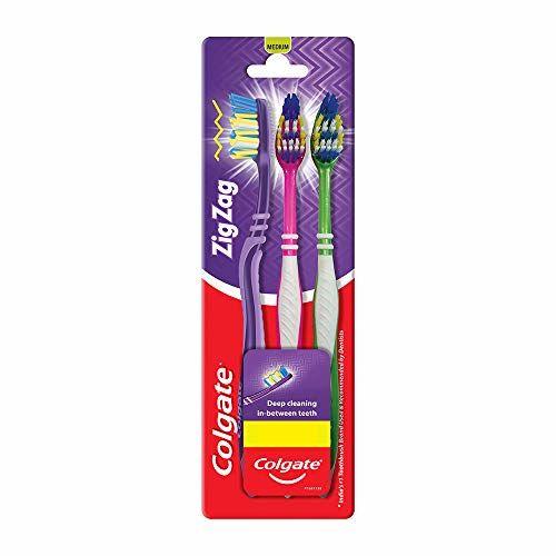 Colgate ZigZag Toothbrush - Medium (Buy 2 Get 1)