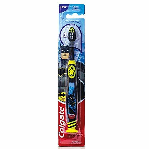 Colgate Kid's Batman Extra Soft with Tongue Cleaner Toothbrush - 1 Pc