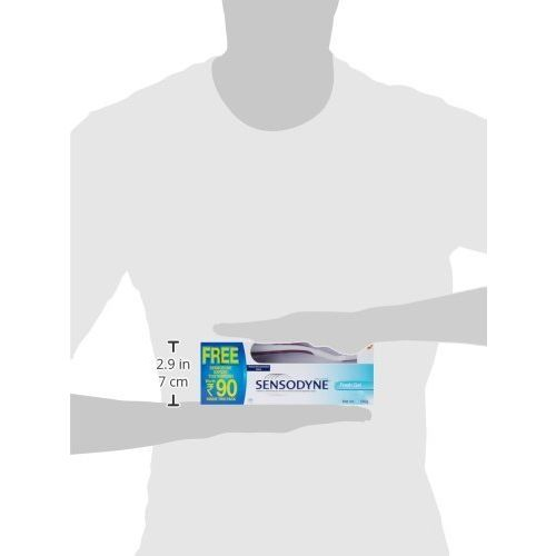 Sensodyne Sensitive Toothpaste Fresh Gel - 130 g plus free Sensodyne Expert sensitive Toothbrush